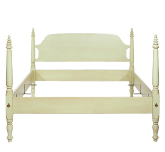 The Tree Top Bed from Footboard