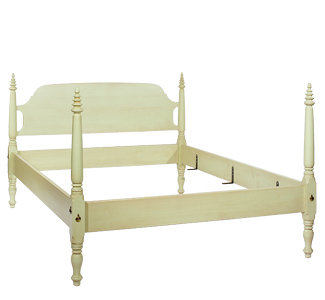 The Treep Top Bed from Foot