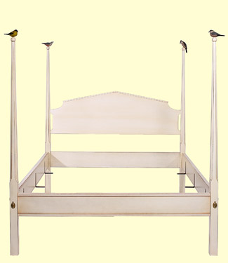 Sunnybrook Farm Bed from Footboard