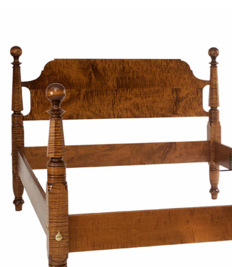 The Wakefield Bed from Footboard